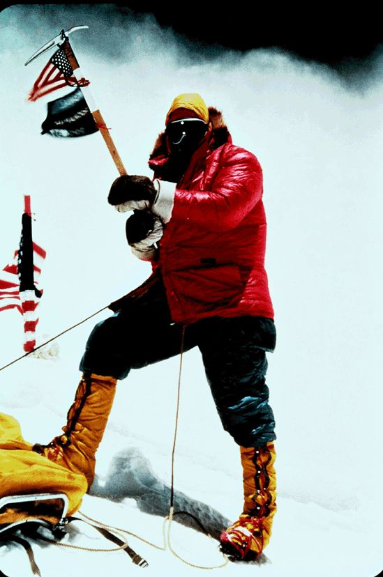 1963 - Jim Whittaker of Washington State becomes the first American to reach the summit of Mt. Everest, the world's tallest mountain