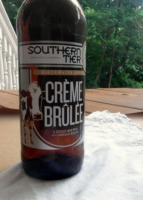 Creme Brulee Stout Ice Cream