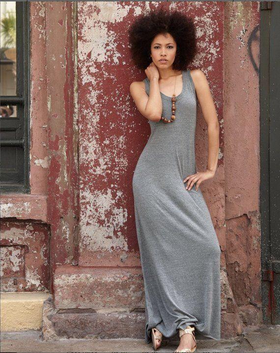 80d6f4ce4d Monogrammed Alternative - Women s Eco-Jersey Maxi Dress Sizes Sm ...