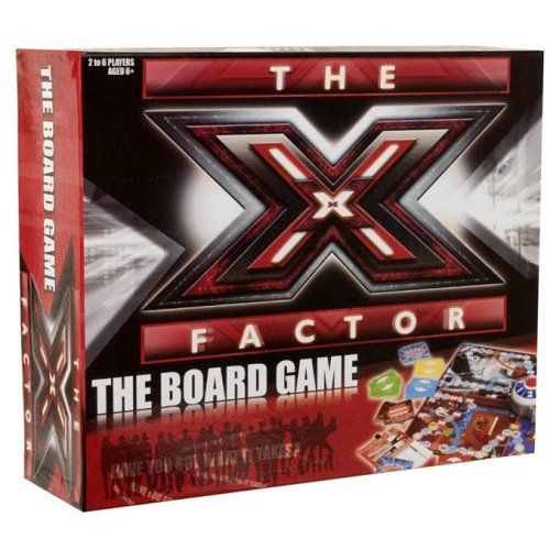 X Factor Board Game