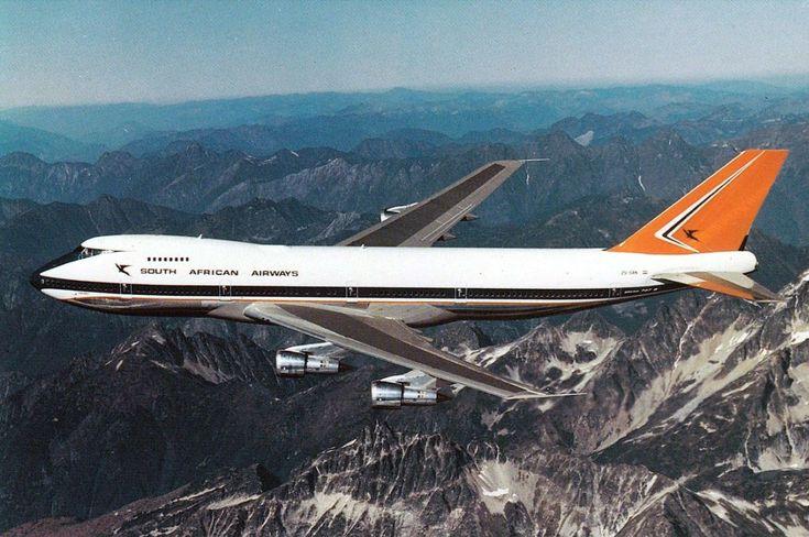 Suid Afrikaanse Lugdiens Boeing 747-244B Lebombo ZS-SAN
