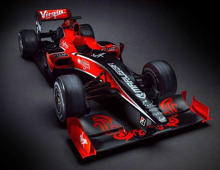Virgin Racing, o VR01