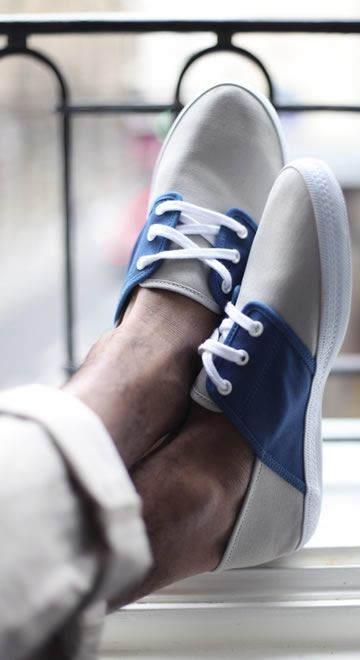 like the contrast and clean lines of these shoes.