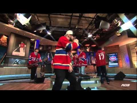 (86) Loco Locass - Song: Le But. Montreal Canadiens Goal Song. L'antichambre. May 14th 2014. (HD) - YouTube