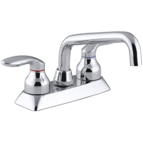 Found it at Wayfair - Coralais Utility Sink Faucet with Lever Handles