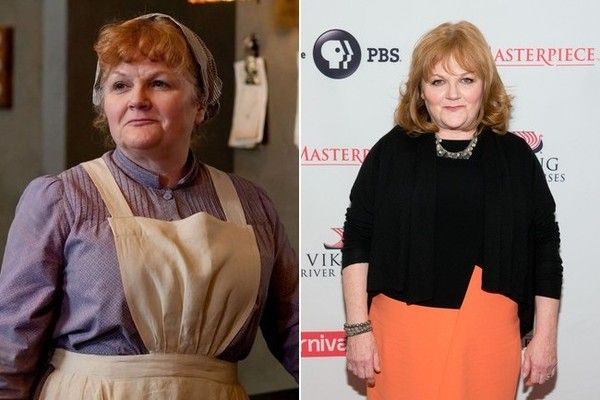Lesley Nicol (Mrs. Patmore) - What the 'Downton Abbey' Cast Looks Like in 21st Century Attire [PHOTOS]