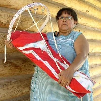 Apache Indian Artifact Cradle Board