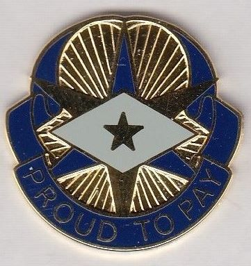US Army 3rd Finance Group crest