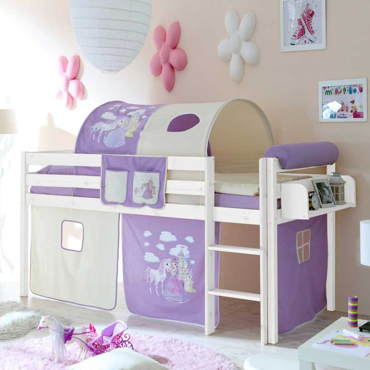 Kinderzimmer Lila Beige lila beige hochbett lilokids wei mit vorhang jelle bild 2 vorhang kinderzimmer lila Prinzessin Kinderbett In Lila Beige Halbhoch Jetzt Bestellen Unter Httpsmoebel