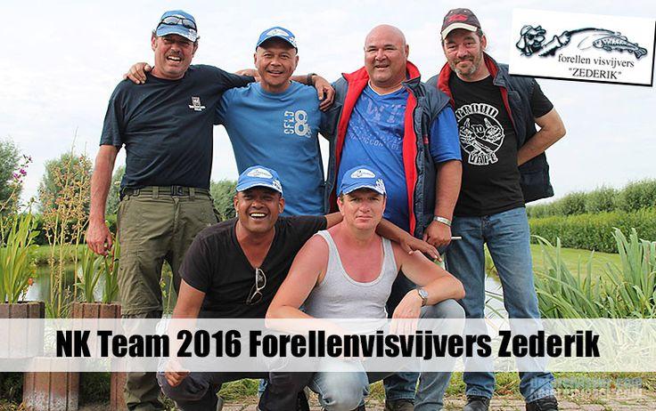 Wij zijn er enorm trots op dat de volgende jongens van Forellenvisvijvers Zederik in Meerkerk zich gekwalificeerd hebben voor het NK Forelvissen 2016!