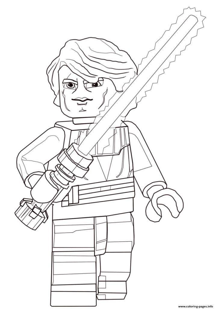 Lego Star Wars Coloring Pages Star Wars Colors Lego Coloring