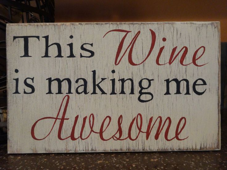 Wine Signs Decor Cool 227 Best Signs For The Home Images On Pinterest  Words Christmas Design Ideas
