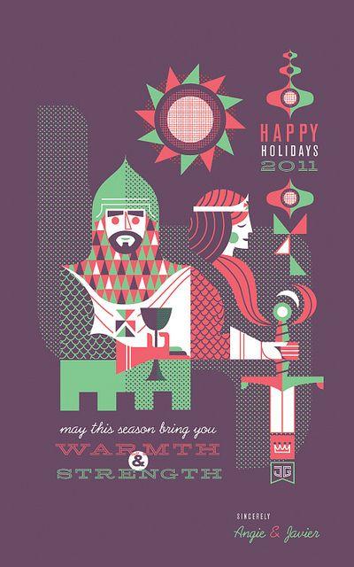 2011 Holiday Card by Javier Garcia by Javier Garcia Design, via Flickr