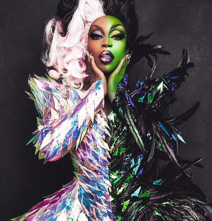 Todrick Hall in drag for Straight Outta Oz / Makeup by Miss Fame