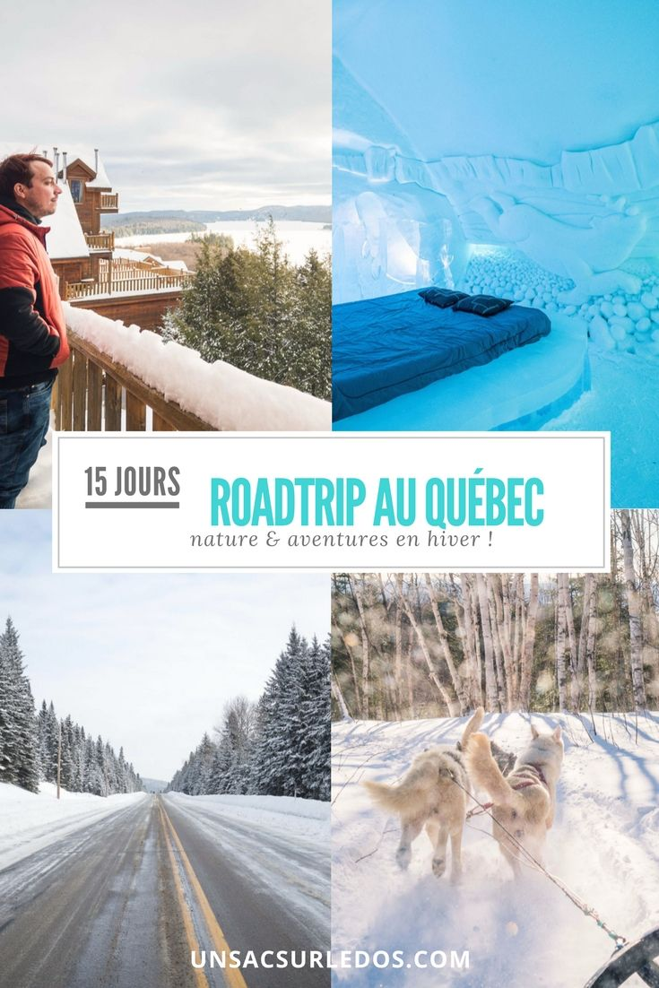 Le Canada en hiver : une expérience immersive dans la nature en Grand et en blanc ! Voici notre itinéraire de roadtrip au Québec, à travers Montréal, Québec, les régions Saguenay – Lac-Saint-Jean, Mauricie, Laurentides et Lanaudière.