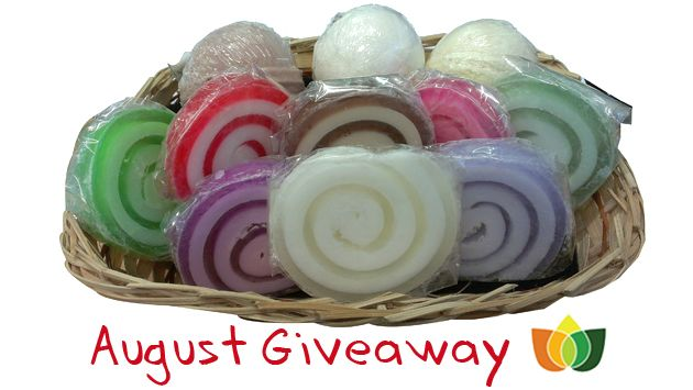 August Giveaway worth over £20 ends 18/08/13.