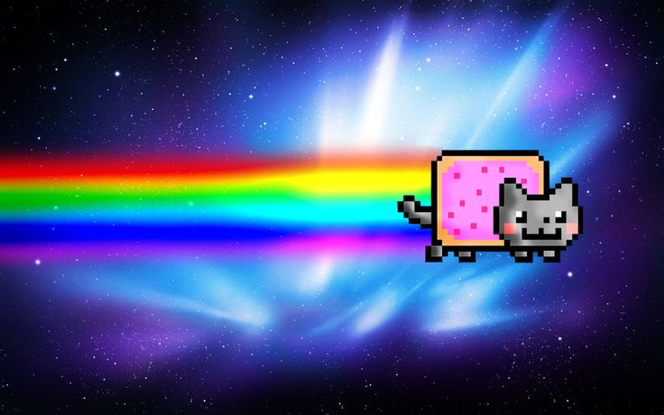 Nyan Cat Wallpaper for Computer | Nyan Cat Wallpaper by ~ExplosivePixel on deviantART