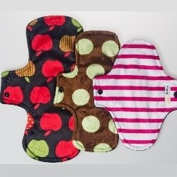 Mama Minx Cloth Pad - Trial Pack - $28 (includes small, medium and large pads)