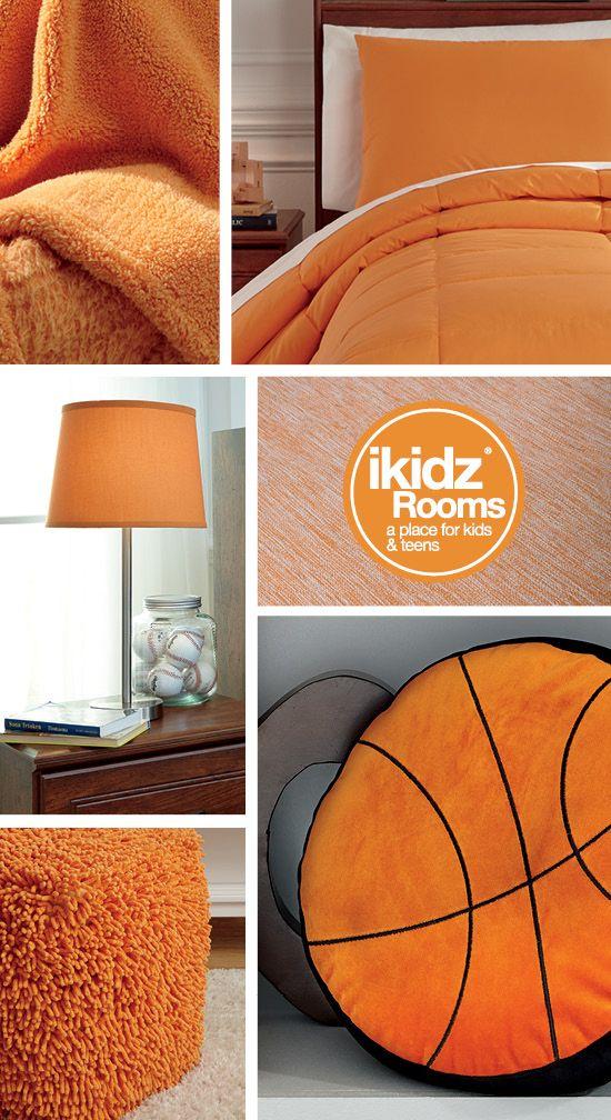 Love orange? So do we! iKidz Rooms® - Kids Bedrooms Orange Color Ideas - Kids, Teen and Youth Bedroom Furniture and Accessories - #iKidzRooms #KidsBedrooms #Orange