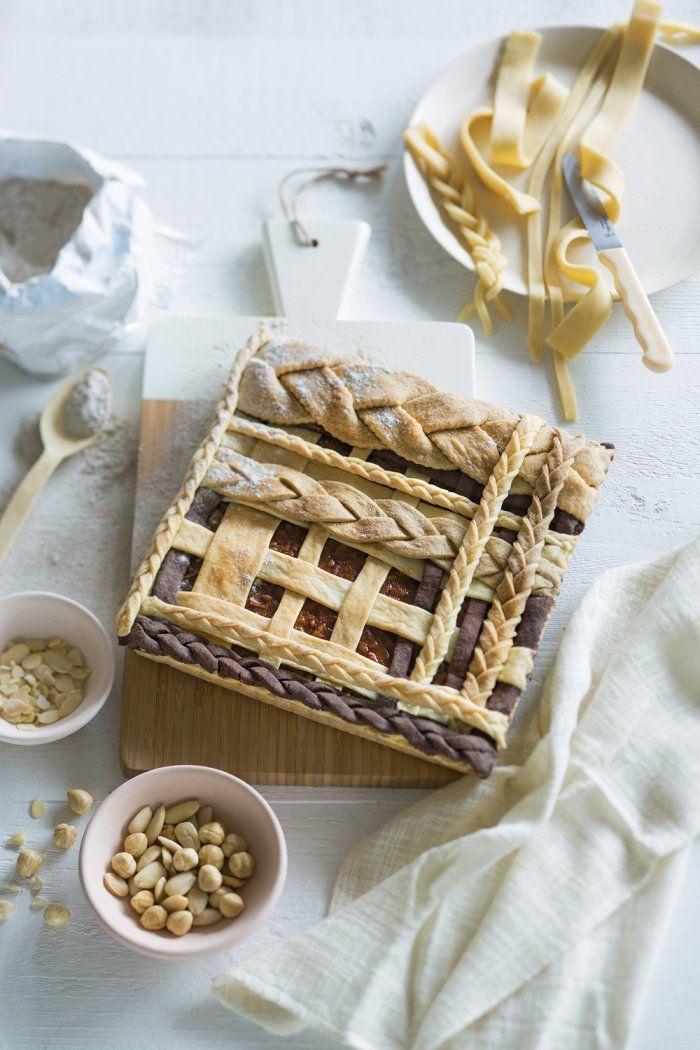Recette : comment réussir une tarte tressée - pie recipe - Marie Claire Idées