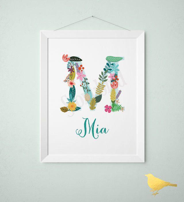 Best 25+ Baby name art ideas on Pinterest | Nursery name ...