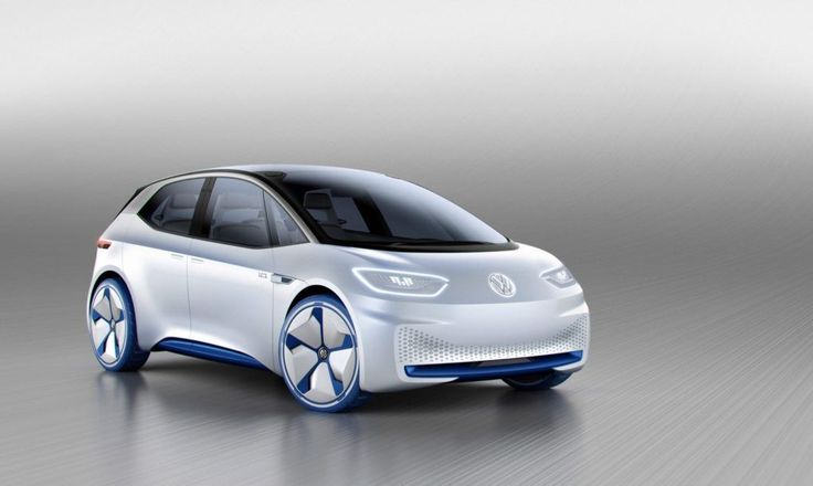 VW has unveiled the new I.D. electric concept car, which is a preview of a long-range electric car that will arrive around 2020.