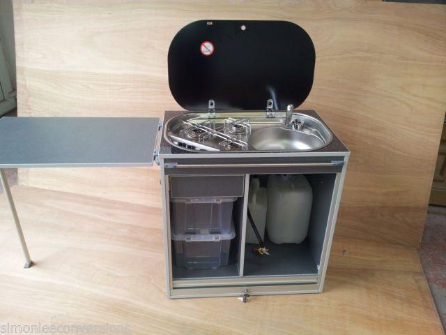 Removable cooker pod for camper van ideal for VW t4 & t5 | eBay