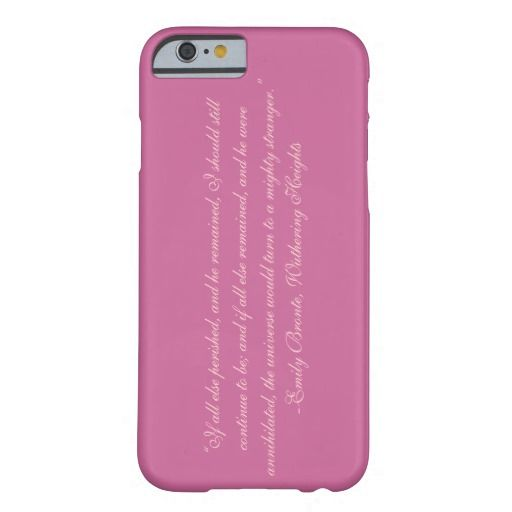 Emily Bronte, Wuthering Heights Quote2 iPhone Case Barely There iPhone 6 Case