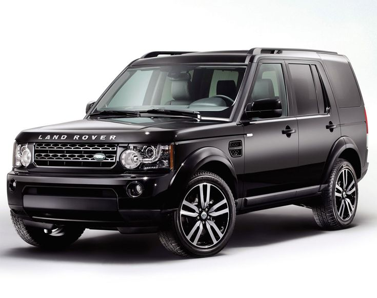 Black LandRover LR4.  ....all black!!! you will be mine!