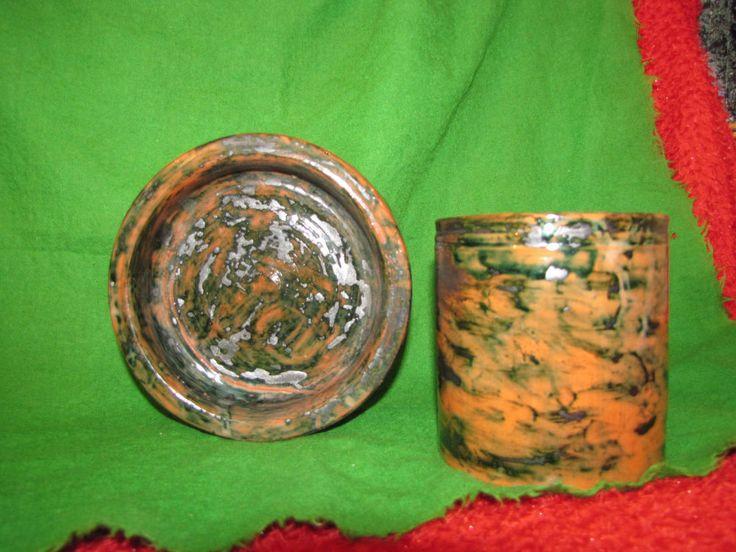 #Sweden #Antique Vintage #Stoneware #pottery #Bowl #Vase Jug signed #PIA S   #PIAS Home #Decor #Design
