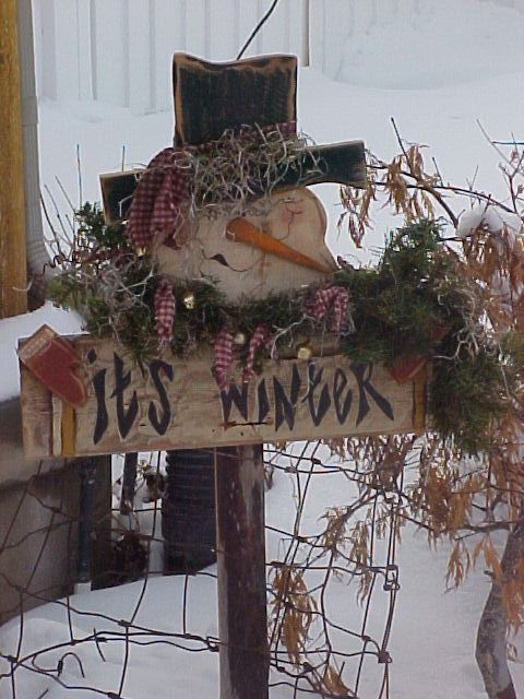 25 Best Ideas About Winter Wood Crafts On Pinterest