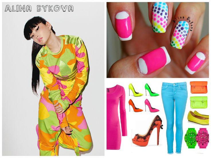Красивые Ногти by Alina Bykova  #alinabykova #krasivienogti #nails #nail #лето2015 #fashion #style #cute #beauty #лето #море #солнце #тренд2015 #яркий #сочный #летний #sammer  https://www.youtube.com/watch?v=6p-o4mcDiOE