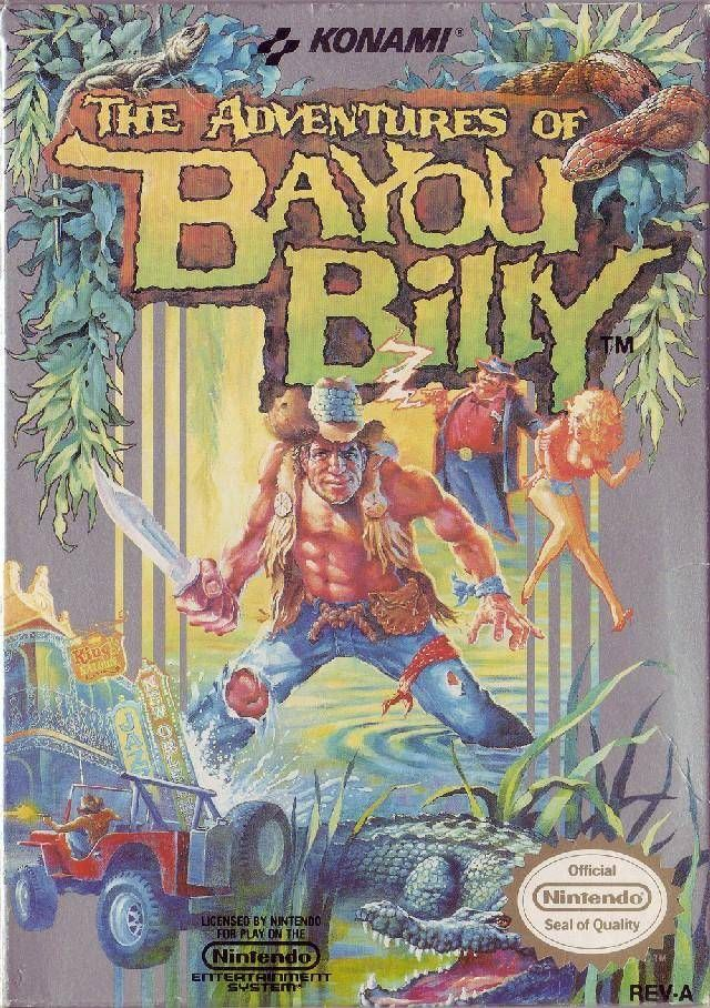 Adventures of Bayou Billy - Released in 1991 - #RetroGaming