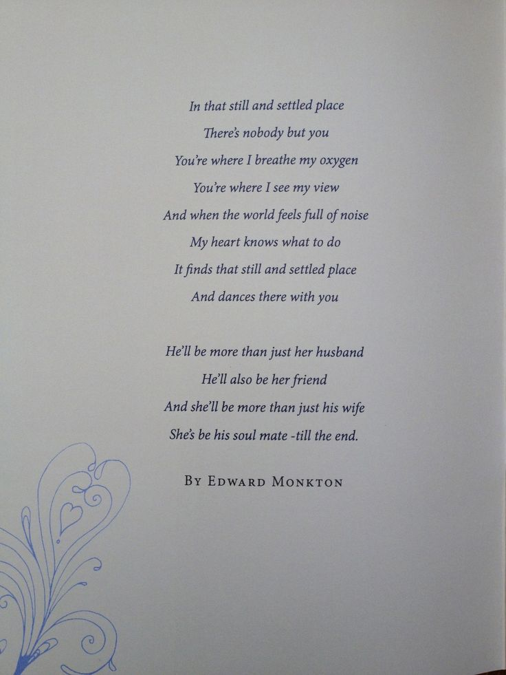 427 Best Wedding Poems Images On Pinterest
