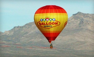 Groupon - Weekday or Weekend Sunrise Hot Air Balloon Ride for Two from Vegas Balloon Rides (Up to 55% Off) in Las Vegas (Paradise). Groupon deal price: $249.00