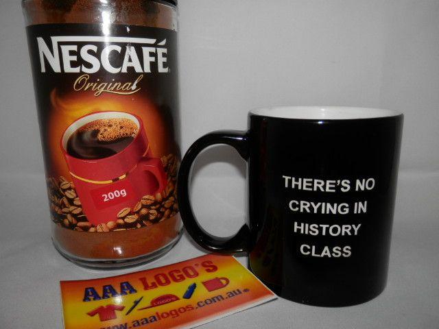 Coffeeeeee or tea?..... brand / personalize  yours today http://www.aaalogos.com.au/printedmugs.htm #engravedmugs #printedmugs #custommugs
