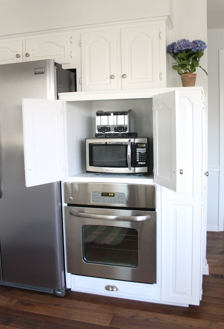 Learn how to create your very own appliance garage to add a seamless look to your kitchen.