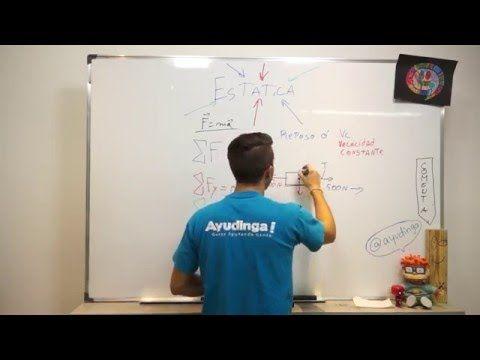 Introducción a la Equilibrio Estático - Concepto y Ejemplo #1 - YouTube