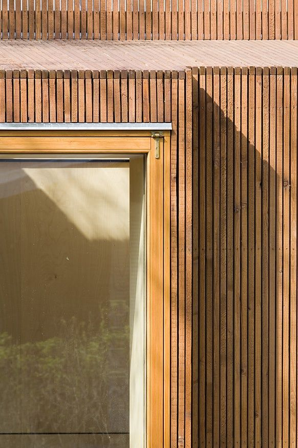 Window detail protruding window windows pinterest window woods and wood slats - The house with protruding windows ...