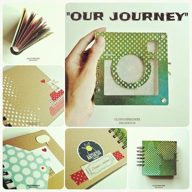 "Mini Instabook ""Our Journey"""