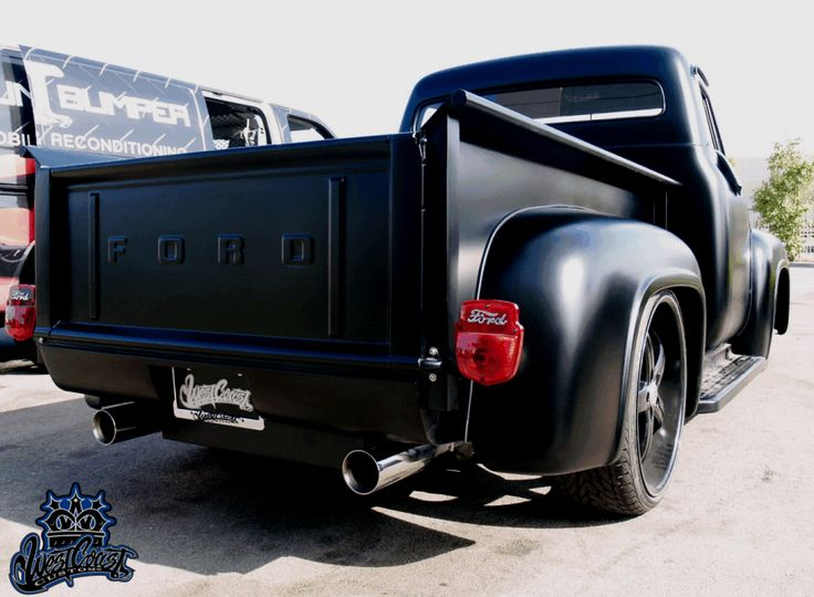 The Expendables Cars Ford Black Classic Truck cars | AdavenAutoModified