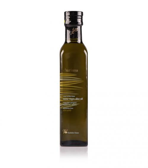 """""""Charisma"""" extra virgin olive oil 250ml available at just 5.70€"""