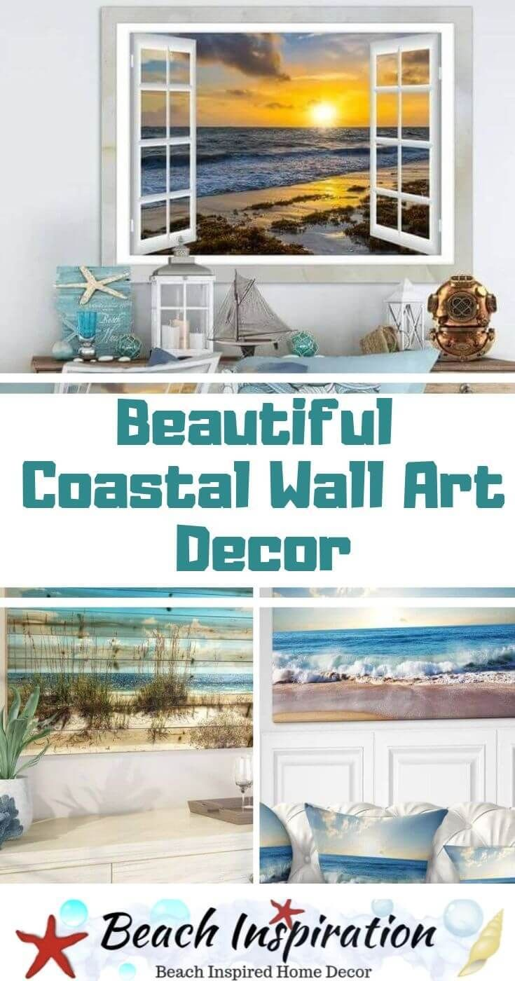 Beautiful Coastal Wall Art Decor Ideas Beach House Decor Home