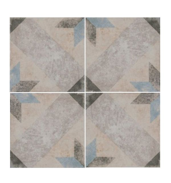 Porcelain Tiles From Ca Pietra These Glazed Feature A Subtle Star Pattern
