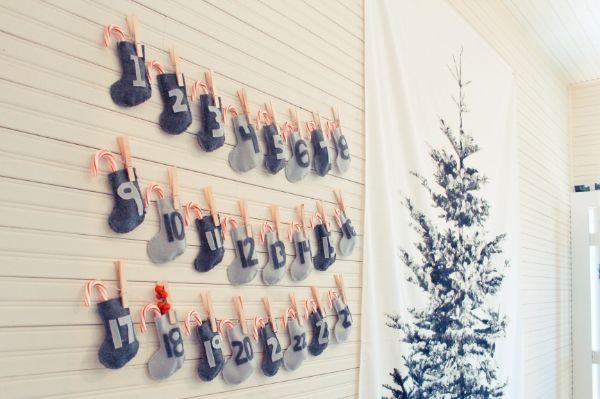 stocking advent calendar!