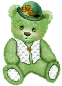 St Patty Bear