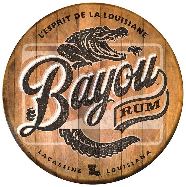 typhography | bayou rum