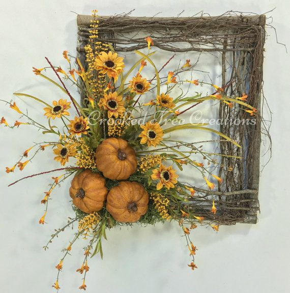 Hey, I found this really awesome Etsy listing at https://www.etsy.com/listing/463074346/sunflower-wreath-pumpkin-wreath-square