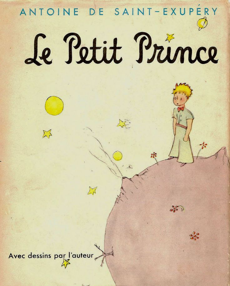 """One of my favorite books. I have 3 copies - 1 in English, 1 in French from my high school courses, 1 in French bought from the Bouquinistes along the Seine. """"On ne voit bien qu'avec le couer. L'essentiel est invisible pour les yeux."""" One only truly sees with the heart. What is important is invisible to the eye."""