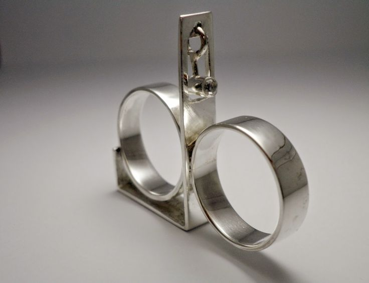 - the creative act - ''pendulum'',  sterling silver, zircon